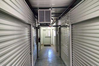Climate Controlled Storage in Montgomery, AL - interior corridor in our temperature controlled storage facility