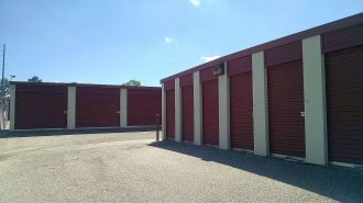 10x25 Extra Large Storage Units Montgomery AL - adjacent buildings with large and small storage units