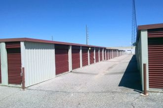 5 x 10 Mini Storage Units Montgomery AL - long corridor of mini storage units